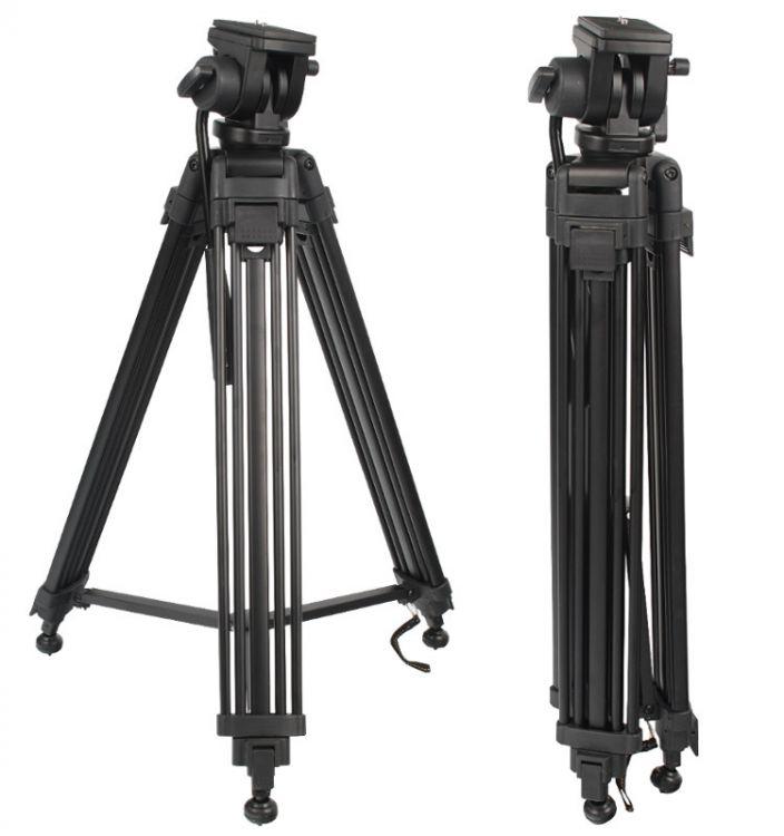 WF-650 - Statyw video 155cm z głowicą olejową