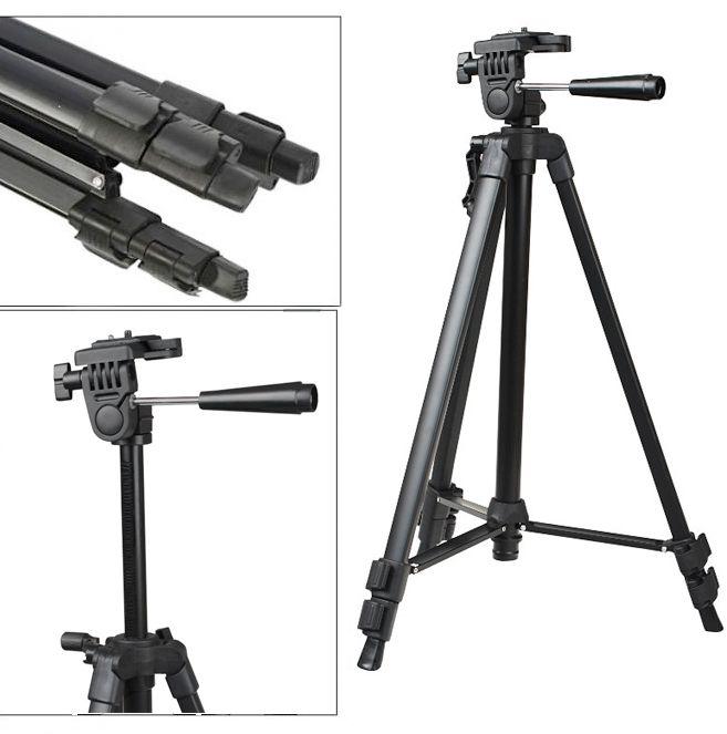 Lekki statyw fotograficzny 139cm, model ST-330