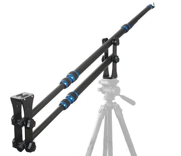 Kran karbonowy, wysięgnik kamerowy (żuraw) z przeciwwagą 3kg