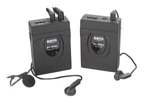 Bezprzewodowy mikrofon 2,4GHz, model BY-WM5