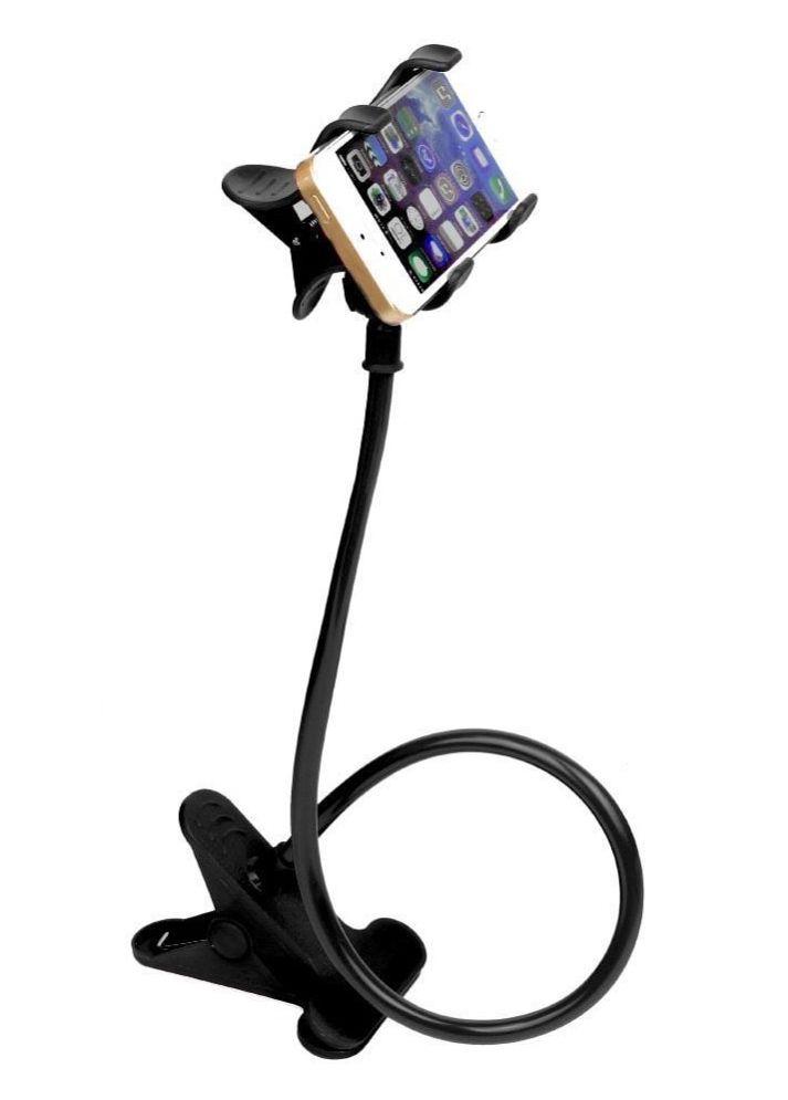 Uchwyt do telefonu, smartfona z KLIPSEM - długie ramię
