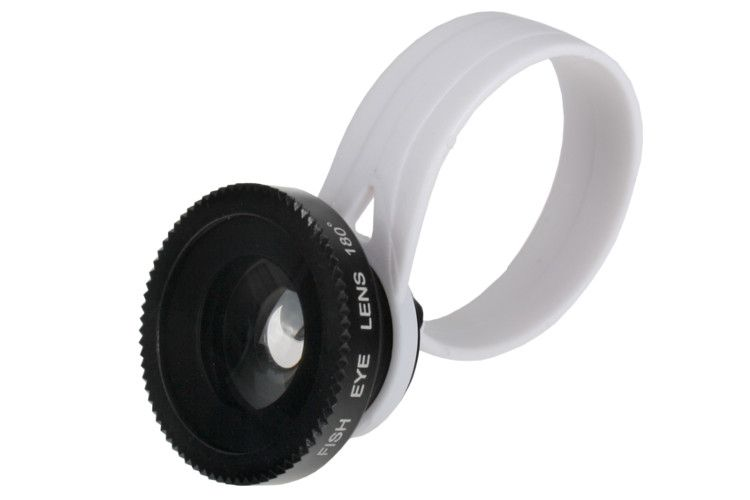 Obiektyw KONWERTER rybie oko (fish eye) do telefonu