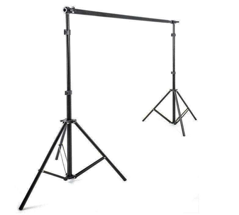 Zestaw do zawieszania teł 230cm BR16MM (2x statyw 230cm i rozsuwana belka 80-190cm)