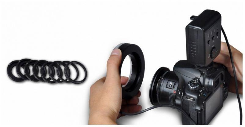 Halo - Lampa błyskowa LED MAKRO Ring do NIKON, model AHL-HN100