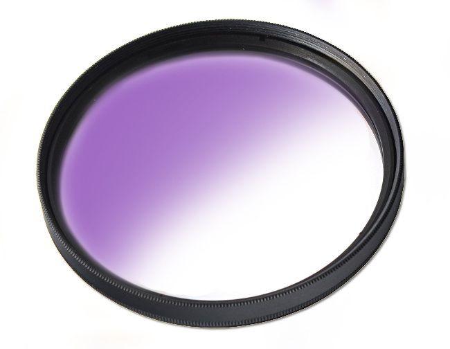 Filtr połówkowy fioletowy 58mm MASSA
