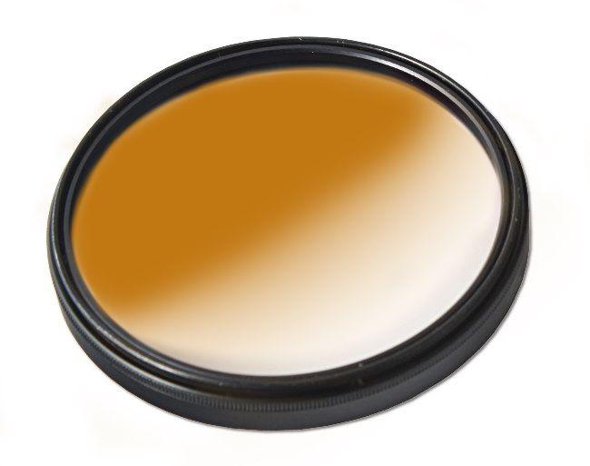 Filtr połówkowy kawowy 72mm MASSA