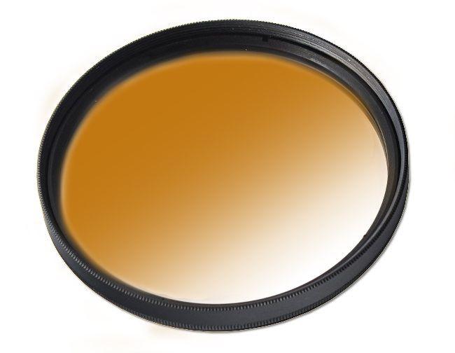 Filtr połówkowy kawowy 67mm