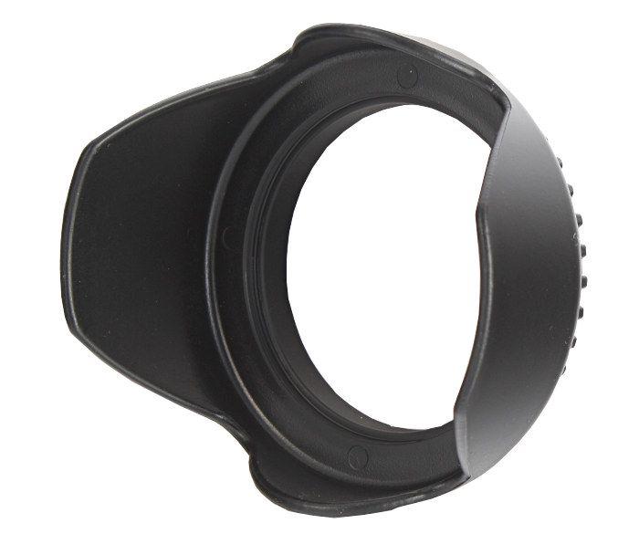 Osłona przeciwsłoneczna - Tulipan 55mm czarna