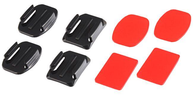 Mocowania nalepiane 4szt do GoPro HERO 1, 2, 3, 3+, 4 (GP09)
