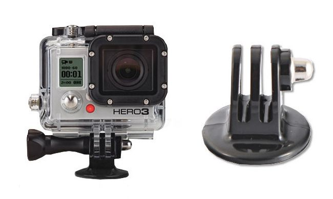 Foam - Statyw flexipod z adapterem do GoPro HERO 1, 2, 3, 3+, 4