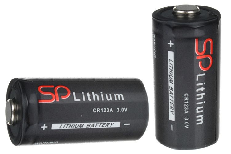 Bateria fotograficzna CR123A