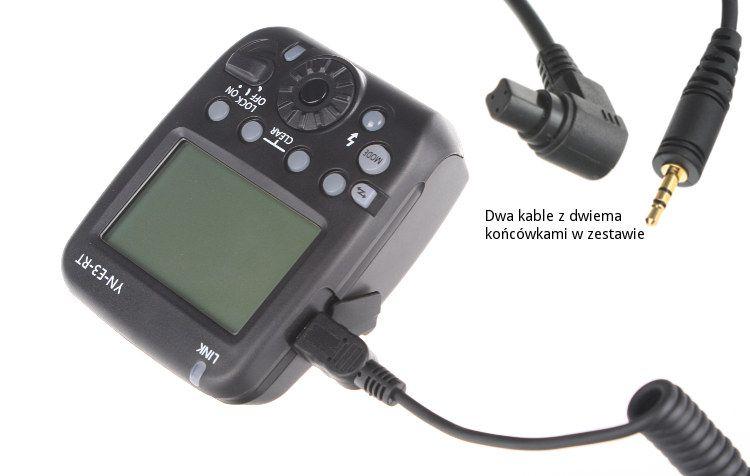 Wyzwalacz radiowy Yonguo, model YN-E3-RT do Canon RT