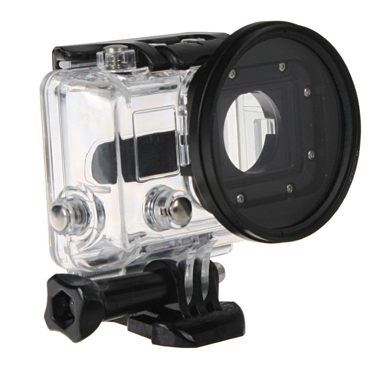 Adapter filtrowy do GoPro HERO 3 + filtr UV 58mm (GP150+UV)