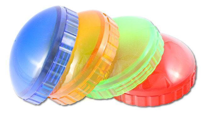 Filtry kolorowe do żarówek błyskowych