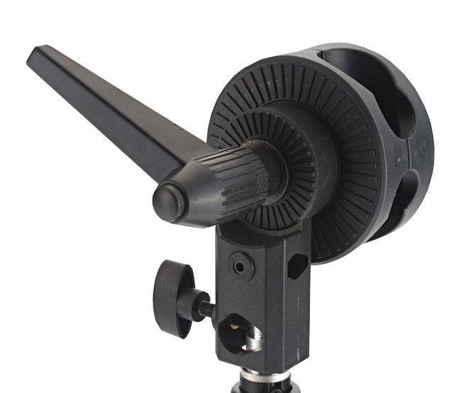 Uchwyt kołowy, obrotowy (boom, wysięgnik, żuraw) na statyw 16mm, model FH-01