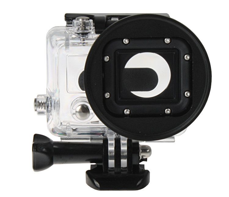 Adapter filtrowy do GoPro HERO 3 + filtr CPL 58mm (GP150+CPL)