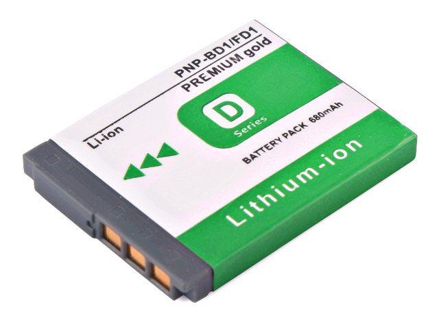 Akumulator NP-BD1, NP-FD1 680mAh (Sony)