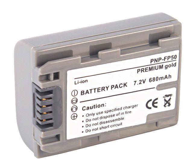 Akumulator NP-FP50 680mAh (Sony)
