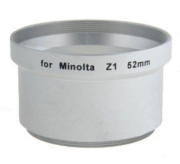 Tulejka do MINOLTA Z1 Z2 52mm (srebrna)