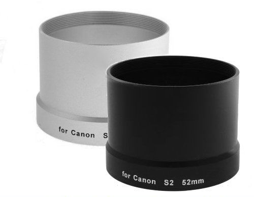 Tulejka do CANON S2 S3 S5 IS 52mm (czarna)