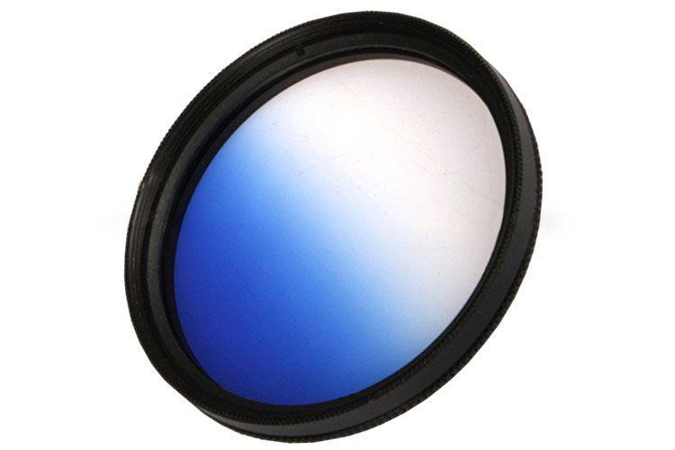 Filtr połówkowy niebieski 67mm