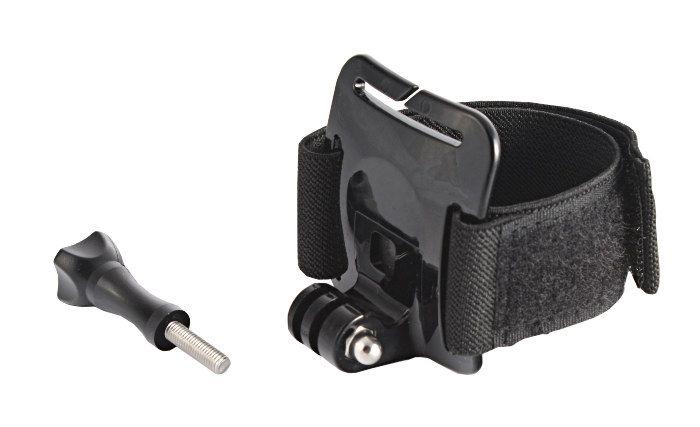 Opaska na rękę, nogę z adapterem 1/4'' do kamer sportowych Sony Action Cam