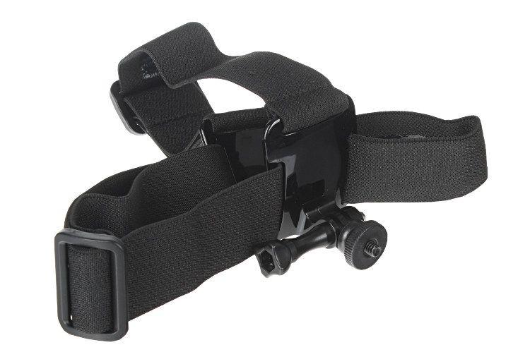 Opaska na głowę typ B ze śrubą i adapterem 1/4'' do kamer sportowych Sony Action Cam