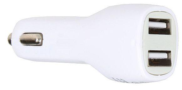 Ładowarka samochodowa 2x USB C-02 12-24V 1A+2.1A