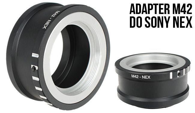 Adapter Sony NEX - M42