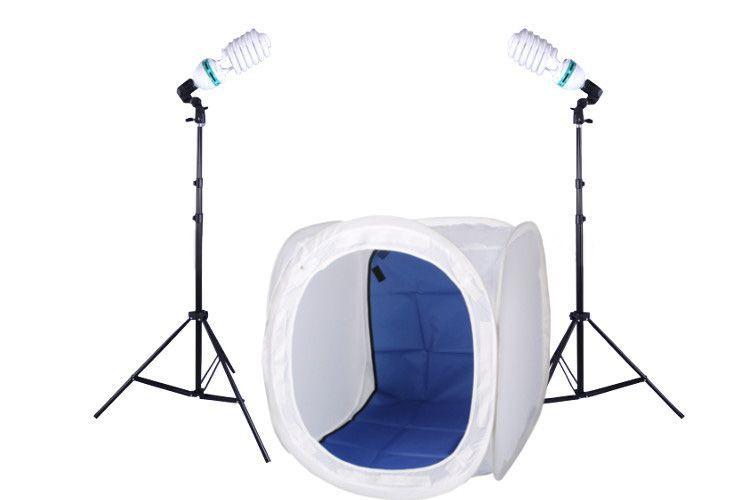 N1 zestaw oświetleniowy bezcieniowy - 2x400W + namiot 80cm