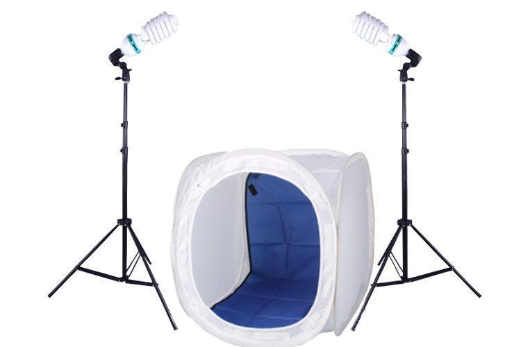 N5 Zestaw bezcieniowy - 2x600W + namiot 80cm