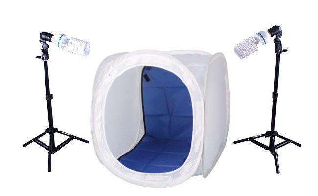 N9 Zestaw bezcieniowy - 2x400W + namiot 40cm