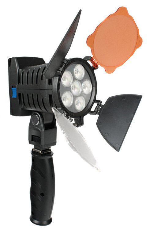 Lampa diodowa do kamery 5010-LED 12W 5600K