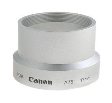 Tulejka do CANON A60 A70 A75 A85 37mm (srebrna)