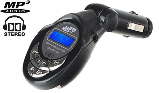 Transmiter FM USB SD/SDHC/MMC +pilot, model T96M