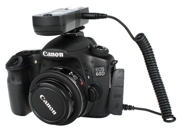 2x Wyzwalacz lamp Yongnuo, model RF-605C do Canon