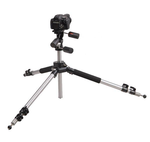 PROF. STATYW VIDEO / FOTO  183cm z głowicą 3D WT-666