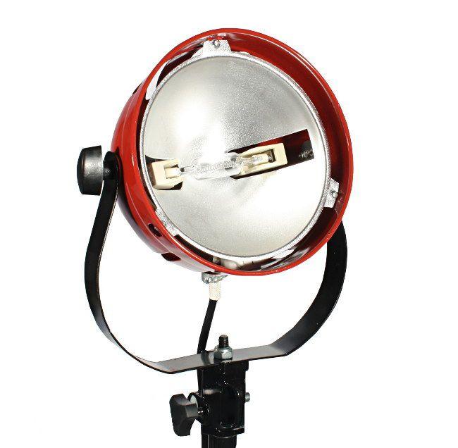 Lampa światła stałego SPOT LIGHT, RED HEAD 800W, model DSR800E ze szklanym filtrem