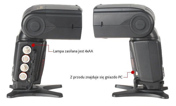 Lampa błyskowa VOKING VK-800N do Nikon TTL, CLS