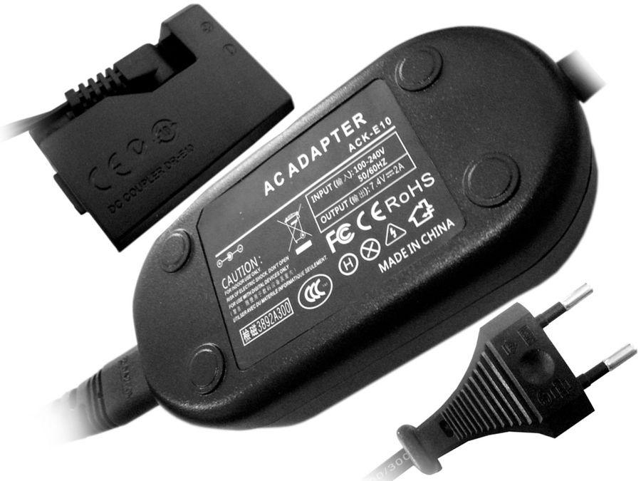 Zasilacz sieciowy ACK-E10 do Canon 1100D 1200D 1300D