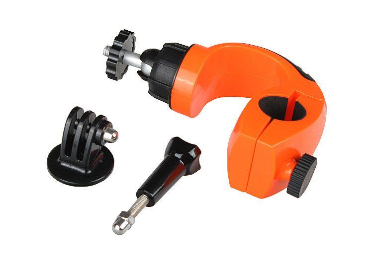 Uchwyt rowerowy IMADŁO na rurę pomarańczowy (GP149)