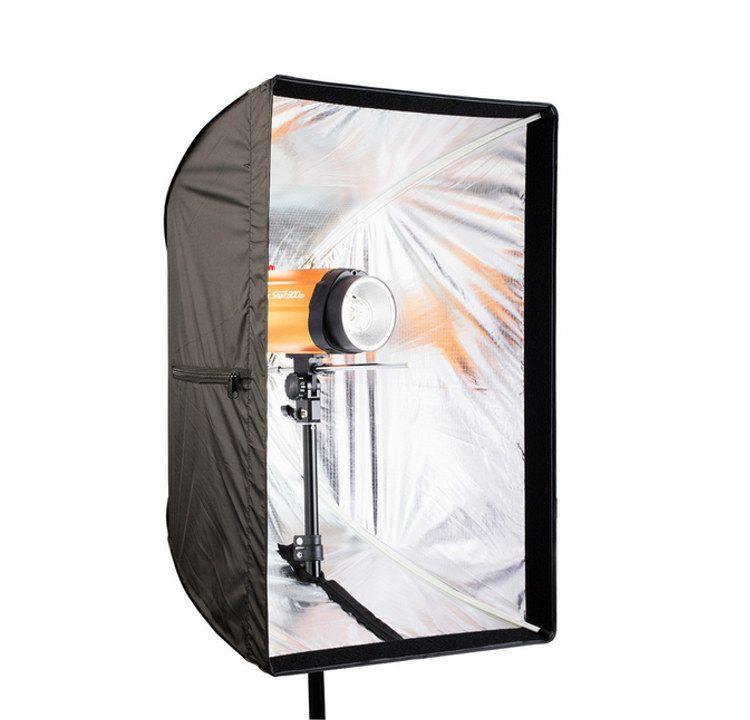 Softbox 80x120cm na lampę błyskową