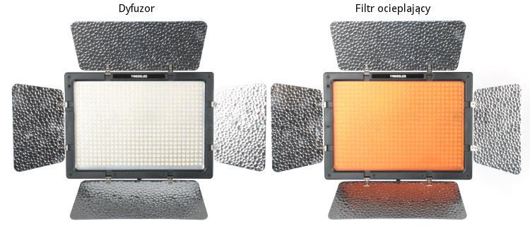 Lampa Panelowa LED, model Yongnuo YN600L II + zasilacz sieciowy