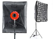 Oprawa softbox 70x90cm do RED HEAD 800W z Gridem