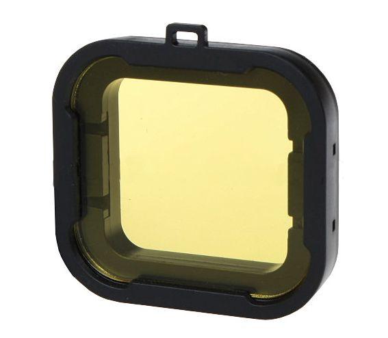 Filtr żółty PODWODNY do GoPro Hero 3 + 4