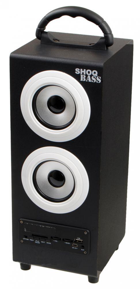 S11 Głośnik przenośny / odtwarzacz STEREO 2.1 FM MP3 USB