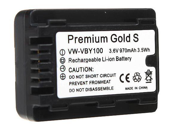 Akumulator VW-VBY100, 970mAh (Panasonic)