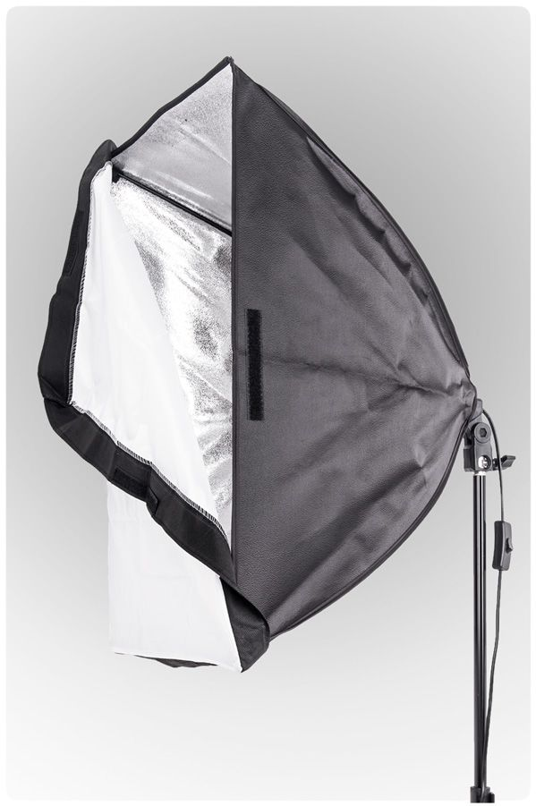 Oprawa SOFTBOX światła ciągłego typu Monohead, statyw 230cm
