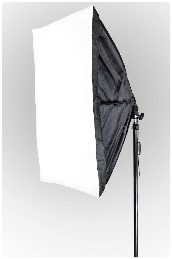 Lampa SOFTBOX MonoHead™ 50x70, statyw 230cm