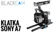 Klatka operatorska C500 do Sony A7, CAMERA CAGE Full set